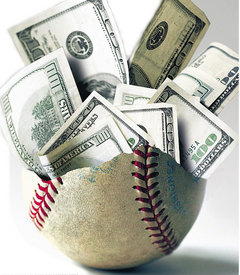 baseball money