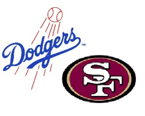 dodgers niners logo
